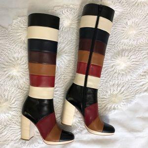 Valentino Garavani Boych Colorblock KneeHigh boots